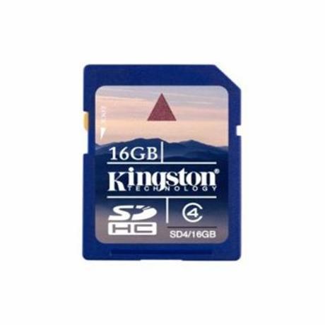 Kingston 16 GB Secure Digital SDHC Kingston - class 4