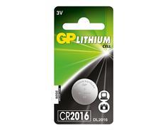 GP lithium CR2016 (1ks)