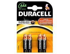 Duracell Basic AAA 4ks 10PP100005