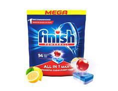 Finish All in one Max Lemon tablety do myčky 94 ks