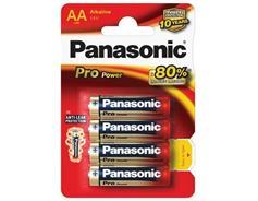 PANASONIC LR6 4BP AA Pro Power Alkalické