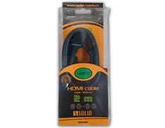 SOLID SV0202 HDMI kabel, 2m