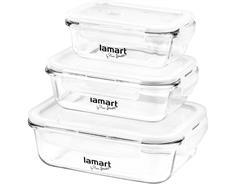 Lamart LT6011 set 3ks dóz obdélníkové air