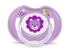 BAYBY BPC 6304 Dudlík fialový 3m+